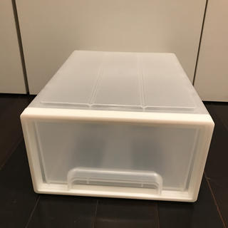 ムジルシリョウヒン(MUJI (無印良品))の無印良品 ポリプロピレン 収納ケース 3個セット(ケース/ボックス)