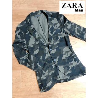 ザラ(ZARA)のZARA MAN♢迷彩柄ジャケット(テーラードジャケット)