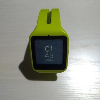 ソニー(SONY)のsony smart watch 3 SWR50 グリーン(その他)