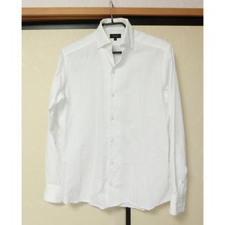 ジョゼフ(JOSEPH)のJOSEPH HOMME ジョセフ 白の長袖ボタンダウンシャツ46(シャツ)