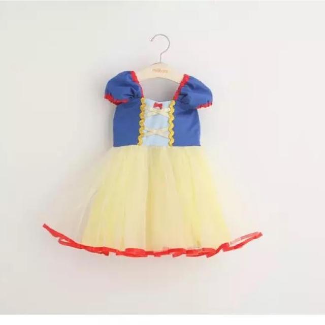 白雪姫 コスチューム  ハロウィン ディズニー キッズ/ベビー/マタニティのキッズ服 女の子用(90cm~)(ドレス/フォーマル)の商品写真