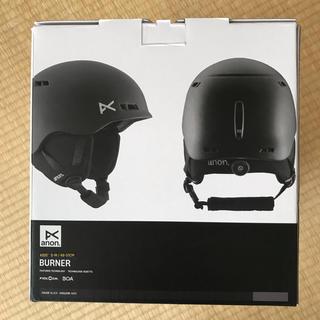 バートン(BURTON)の18-19 Kids Anon Burner Helmet S/M 黒 アノン(アクセサリー)