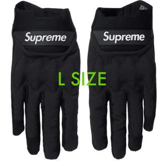 シュプリーム(Supreme)のSupreme FoxRacingBomberGloves L black(装備/装具)