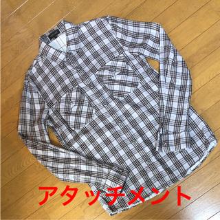 アタッチメント(ATTACHIMENT)のアタッチメント ダブルガーゼ 長袖シャツ S-size(シャツ)