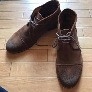 ザラ(ZARA)のZARA MAN スエード 靴(ドレス/ビジネス)