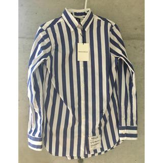 マディソンブルー(MADISONBLUE)の【新品タグ付】今年購入マディソンブルー  ストライプシャツ(シャツ/ブラウス(長袖/七分))