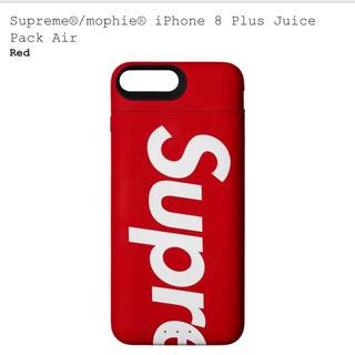 シュプリーム(Supreme)の【プラス用】 mophie iPhone 8 Plus Juice Pack (バッテリー/充電器)