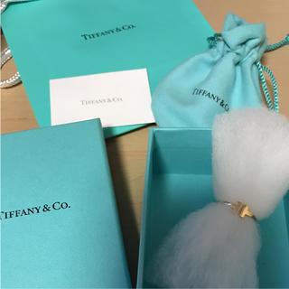 ティファニー(Tiffany & Co.)のティファニー T ワイヤーリング イエローゴールド US5(リング(指輪))