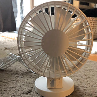 ムジルシリョウヒン(MUJI (無印良品))の無印良品 小型デスクファン(扇風機)