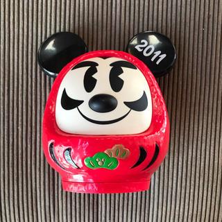 ディズニー(Disney)のミッキー だるま (置物)