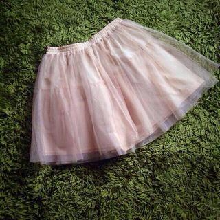マーキュリーデュオ(MERCURYDUO)のチュールスカート#美品#マーキュリー(ミニスカート)