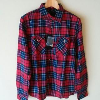 アトリエサブ(ATELIER SAB)のチェックシャツ メンズ Lサイズ(シャツ)