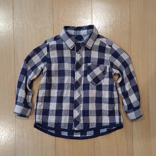 コドモビームス(こどもビームス)のPOLARN O. PYRET リバーシブルシャツ size86(シャツ/カットソー)