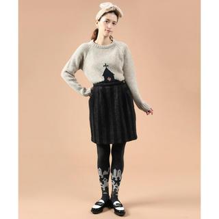 フィグロンドン(fig London)のストライプコクーンスカート(ひざ丈スカート)