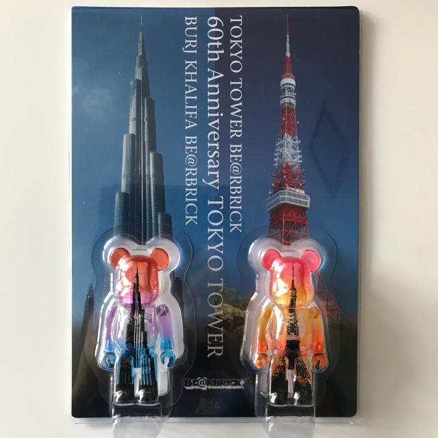 MEDICOM TOY(メディコムトイ)のベアブリック  東京タワー&ブリュジュハリファ100% BE@RBRICK エンタメ/ホビーのフィギュア(その他)の商品写真