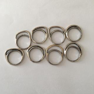イオッセリアーニ(IOSSELLIANI)のイオッセリアーニ8連 シルバー(リング(指輪))