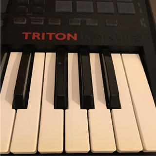 コルグ(KORG)のKorg TRITON taktile 25 美品/マニュアル付き(MIDIコントローラー)