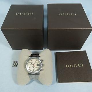 グッチ(Gucci)のGUCCI グッチ 101M クロノ・クォーツ メンズ腕時計 送料無料(腕時計(アナログ))