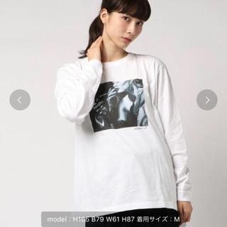 ジーヴィジーヴィ(G.V.G.V.)のGVGV FLAT ロンT 白(Tシャツ(長袖/七分))