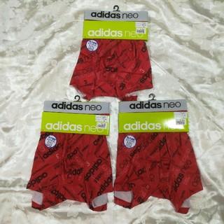 アディダス(adidas)の新品未使用 アディダス ネオ adidas neo ボクサーブリーフ 赤3枚組(ボクサーパンツ)