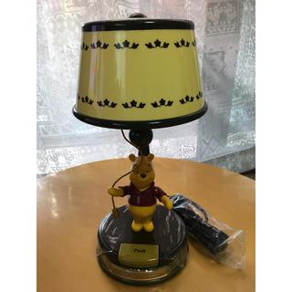 ディズニー(Disney)のクラシックアクションランプ スタンドライト プーさん(テーブルスタンド)
