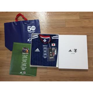アディダス(adidas)のサッカー日本代表 ロシアW杯 記念ユニフォーム(記念品/関連グッズ)