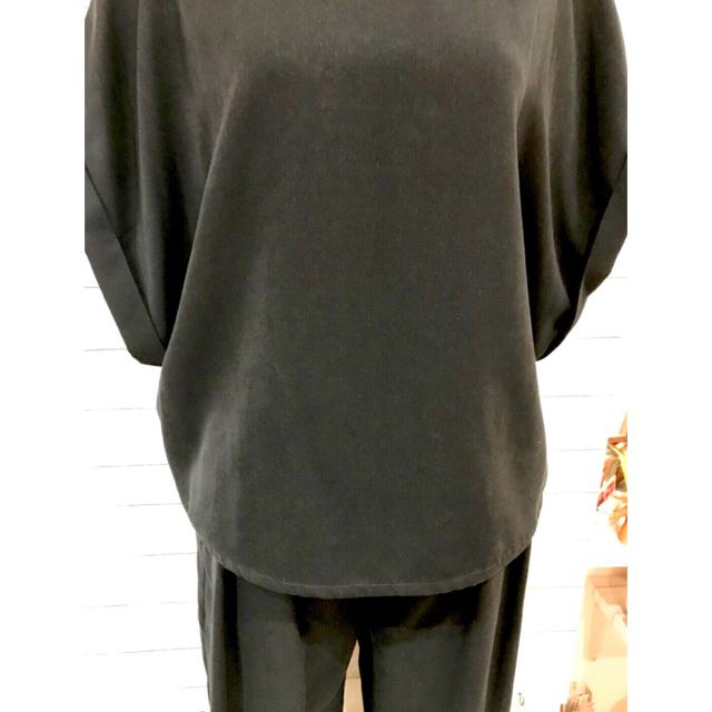 【Hunch】大人のセットアップ WAN3039 レディースのトップス(カットソー(半袖/袖なし))の商品写真
