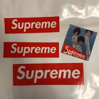 シュプリーム(Supreme)のsupreme ステッカー 3枚(ステッカー)