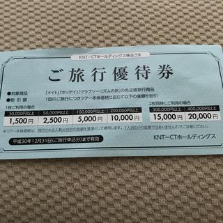 近畿日本ツーリスト 株主優待(その他)