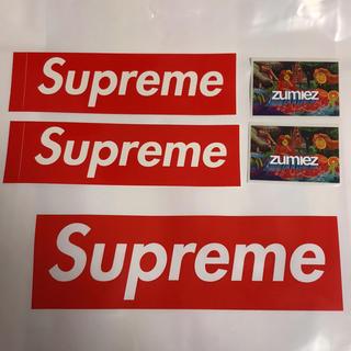 シュプリーム(Supreme)のステッカー4点セット(ステッカー)