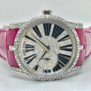 ロジェデュブイ(ROGER DUBUIS)のロジェ・デュブイ エクスカリバー DBEX0353 アフターダイヤモンド ダイヤ(腕時計(アナログ))