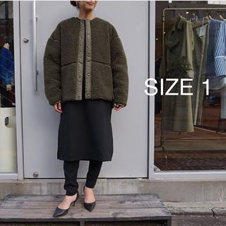ハイク(HYKE)の新品 hyke ハイク faux searling jacket (ノーカラージャケット)