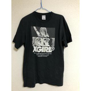 エックスガール(X-girl)のX-GIRL (楳図かずおコラボ)ロングTシャツ(Tシャツ(半袖/袖なし))
