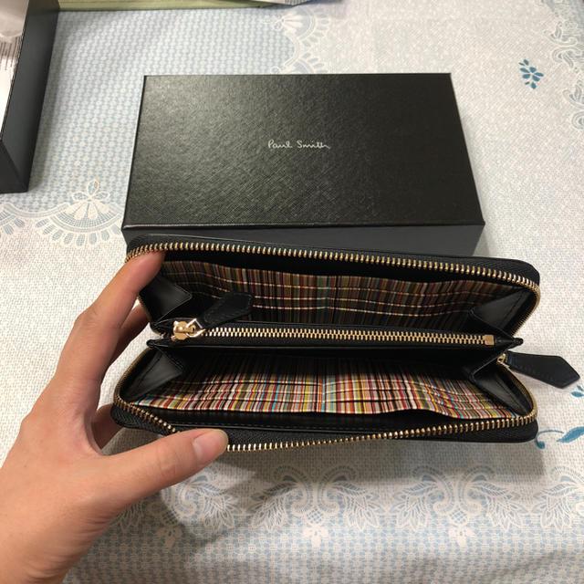 66ad5a9cd25c Paul Smith(ポールスミス)のPaulSmith ラウンドファスナー 長財布 メンズのファッション小物