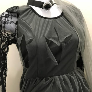 新品 ハロウィン コスプレ 衣装 レディース 4点セット(衣装一式)