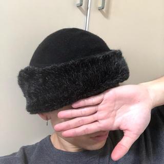 カシラ(CA4LA)のCA4LA ファー 帽子(ハンチング/ベレー帽)
