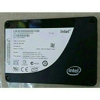 インテレクション(INTELECTION)のintel SSD 32GB(PCパーツ)