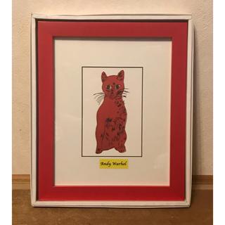 猫の絵の額 ウォーホル(絵画額縁)