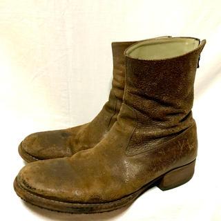 カルペディエム(C DIEM)のC-DIEM ホースデストロイバックジップブーツ(ブーツ)
