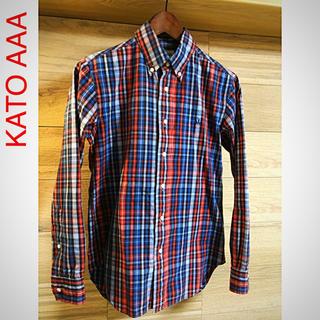 カトー(KATO`)のKATO AAA ボタンダウン チェックシャツ カトー(シャツ)