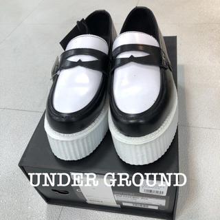 アンダーグラウンド(UNDERGROUND)のアンダーグラウンド UNDER GROUND厚底ラバーソールローファー/シューズ(ローファー/革靴)