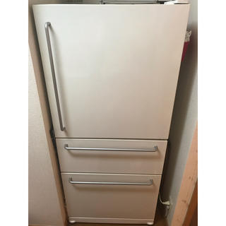 ムジルシリョウヒン(MUJI (無印良品))の無印 冷蔵庫 ノンフロン  3ドア(冷蔵庫)