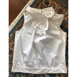 ロイスクレヨン(Lois CRAYON)のLois CRAYON ノースリーブブラウス ホワイト(シャツ/ブラウス(半袖/袖なし))
