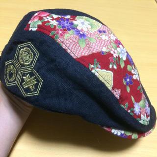 カラクリタマシイ(絡繰魂)のハンチング 絡繰魂 和柄(ハンチング/ベレー帽)