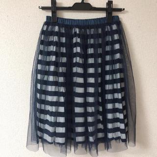 ジェットレーベル(JET LABEL)のレーススカート(ひざ丈スカート)