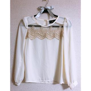 ロジータ(ROJITA)のRojita 刺繍ブラウス(シャツ/ブラウス(長袖/七分))