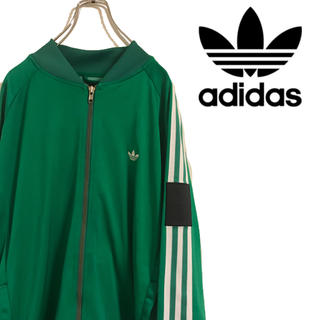 アディダス(adidas)の90s adidas アディダス トラックトップ スリーストライプス 胸ロゴ(ジャージ)