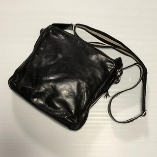 BALLY バリー レザーショルダーバッグ かばん  黒 状態要確認