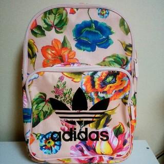 アディダス(adidas)のユッキー様専用アディダスオリジナルス 花柄 リュック ピンク(リュック/バックパック)