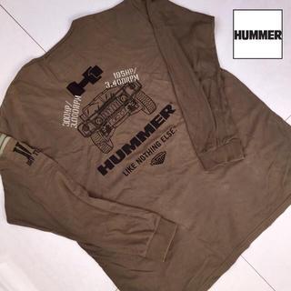 ハマー(HUMMER)の5L フルデコ 長袖 シャツ オーバーサイズ 大きいサイズ HUMMER ハマー(カーディガン)